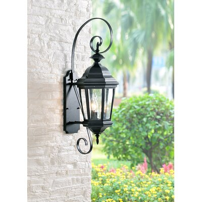 Wildon Home Estate 3 Light Outdoor Wall Lantern