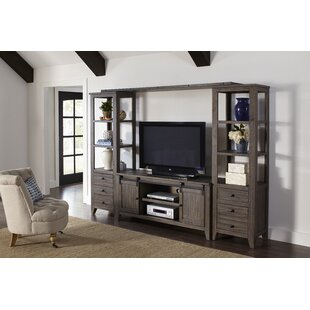 Madison Solid Wood Entertainment Center By Gracie Oaks