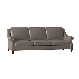 Reinsman Genuine Leather Sofa by Bradington-Young