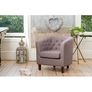 Lambda Tub Chair By 17 Stories