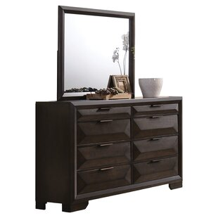 Brayden Studio Lancelot 8 Dresser with Mirror
