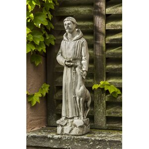 St. Francis with Animal Statue