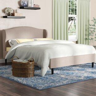 Review Upholstered Platform Bed