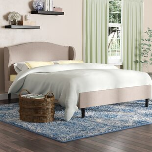 Cheap Price Upholstered Platform Bed