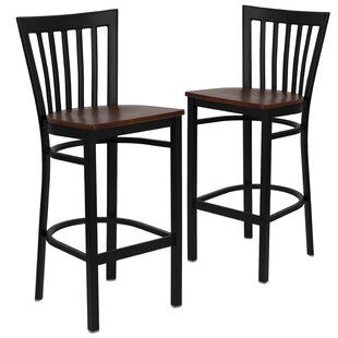 Thornfeldt 29 Bar Stool (Set Of 2) by Red Barrel Studio Cool