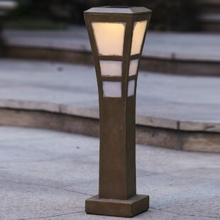 Winsome House Solar 5-Light Bollard Light