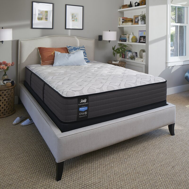 Sealy Response Performance 12 5 Cushion Firm Innerspring Mattress And Box Spring Reviews Wayfair