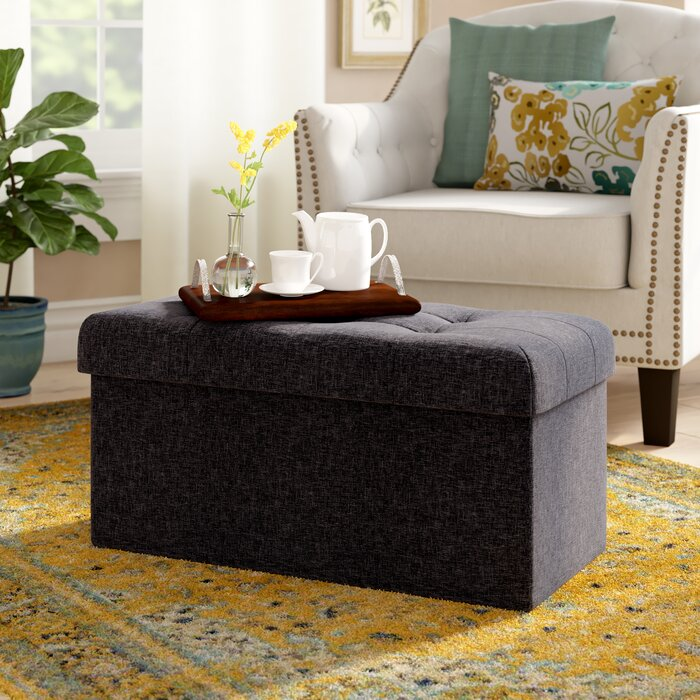 Miraculous Foronda Storage Ottoman Gmtry Best Dining Table And Chair Ideas Images Gmtryco