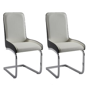 Compare & Buy Orianna Upholstered Dining Chair (Set of 2) by Orren Ellis Reviews (2019) & Buyer's Guide