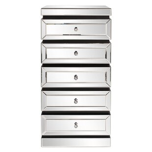 Affordable Rivas 5 Drawer Chest by Rosdorf Park