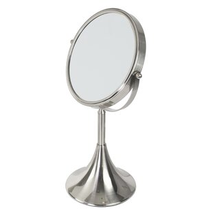 Find the perfect Shelled Base Cosmetic Mirror By Home Basics
