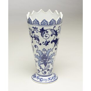 Ferranti Saw Tooth Table Vase