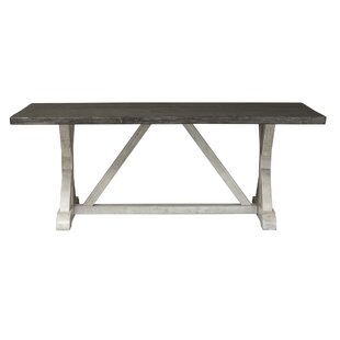 Beames Trestle Dining Table by Gracie Oaks