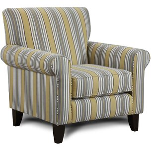Darby Home Co Cargin Striped Armchair