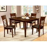Yoder 5 Piece Solid Wood Dining Set by Alcott Hill®