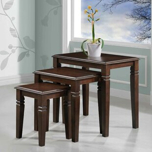 Mario Furniture 3 Piece Nesting Tables Alcott Hill