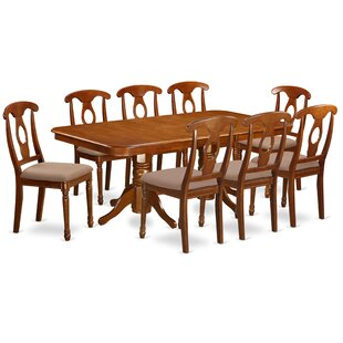 Pillsbury Traditional 9 Piece Dining Set August Grove