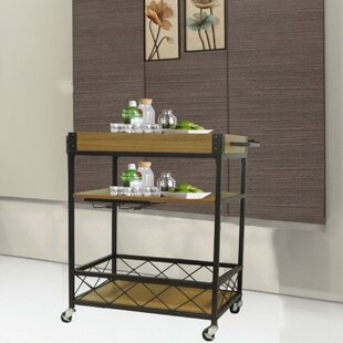 Laverock Kitchen Mobile Serving Bar Cart
