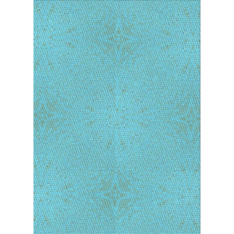 East Urban Home Millen Wool Light Blue Area Rug Wayfair