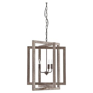 Maddin 3-Light Square/Rectangle Chandelier