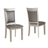 Kitterman Simplicity Solid Wood Dining Chair (Set of 2) by House of Hampton®