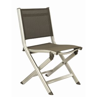 Basic Plus Folding Patio Dining Chair