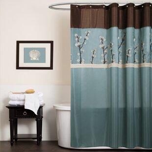 Kozak Embroidered Shower Curtain