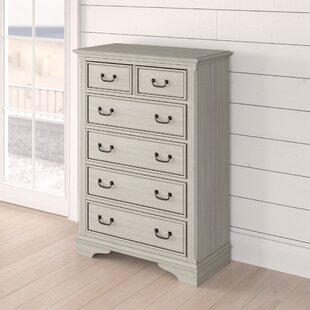 Trenton 5 Drawer Wood Chest