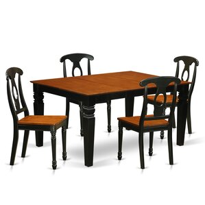 Beldon 5 Piece Dining Set by Darby Home Co