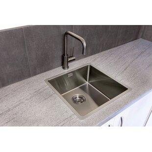 Remarkable Black Stainless Steel Kitchen Sinks Youll Love Wayfair Co Uk Interior Design Ideas Apansoteloinfo