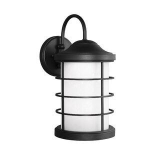 Reviews Newcastle Outdoor 1-Light Lantern Head By Breakwater Bay