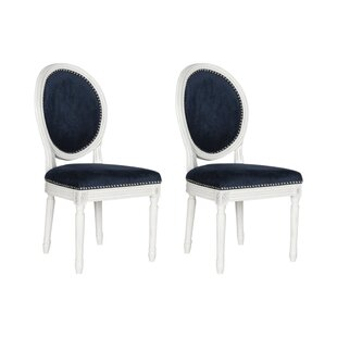 Lark Manor Alpes Upholstered Dining Chair (Set of 2)