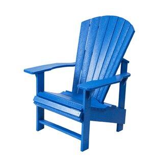 Trinidad Upright Plastic Adirondack Chair