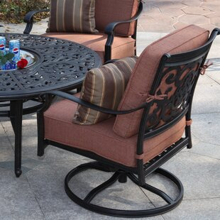 Astoria Grand Berenice Patio Chair with Cushion