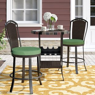 Stoneham 3 Piece Bar Height Dining Set by..