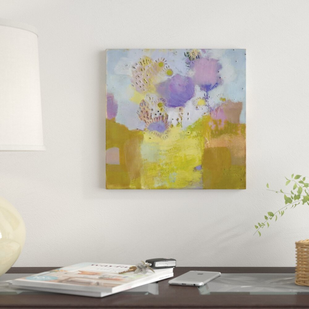 East Urban Home \'Blume II\' Print on Canvas | Wayfair
