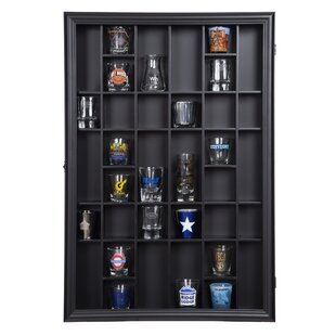 Savings Gerry Shot Case Wall Shelf By Latitude Run