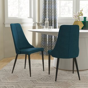 Eichelberger Urban Upholstered Dining Chair (Set of 2) Wrought Studio