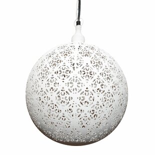 Ean 1-Light Globe Pendant by Mistana