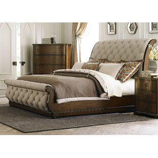 Reviews Elwood Sleigh Headboard by Darby Home Co