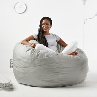 Terrific Fuf Large Bean Bag Chair Gmtry Best Dining Table And Chair Ideas Images Gmtryco