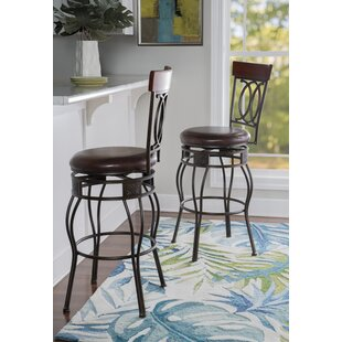 Schaumburg 24 Swivel Bar Stool DarHome Co