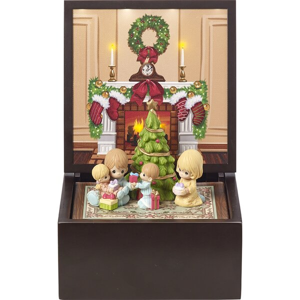 Animated Symphony Of Bells Musical Tabletop Decoration Best Mr Christmas Music Boxes  Wayfair 2018