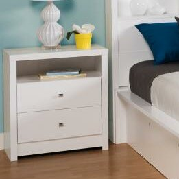 Find for Tidworth Tall 2 Drawer Nightstand by Ebern Designs