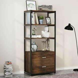 Suttle 4-Tier Standard Bookcase