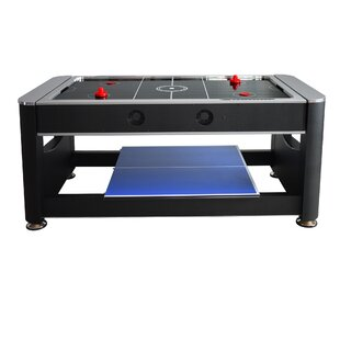 Pool Table With Air Hockey | Wayfair