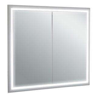 Saakshi 33 x 30.2 Recessed Medicine Cabinet with LED Lighting ByOrren Ellis