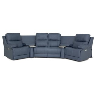 Finn Symmetrical Reclining Sectional By Palliser Furniture