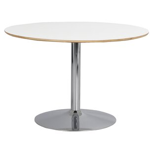 Round Trumpet Base Dining Table By Mikado Living