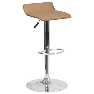 Noriega Adjustable Height Swivel Bar Stool